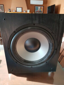 "subwoofer 12"", 150 watts"