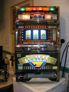 Quarter Slot Machine - 10 Programmable levels of Difficulty