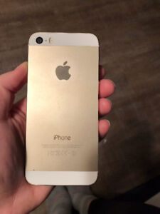 iPhone 5s (16gb) - Great Condition with Black Otterbox Case