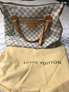 Genuine Louis Vuitton Damier Azur MM