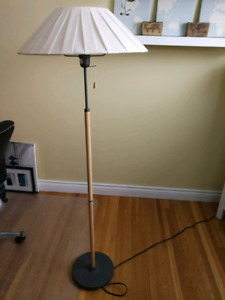 Lamp with shade and light bulb included
