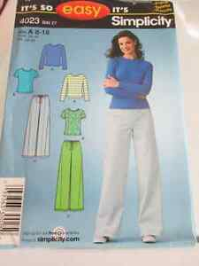 Simplicity 4023 sewing pattern