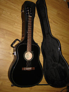 Fender CD-60 BLK and Fender Hard Shell Case
