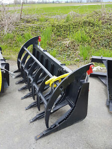 Skid Steer Extreme Root Rake Unused Made in USA