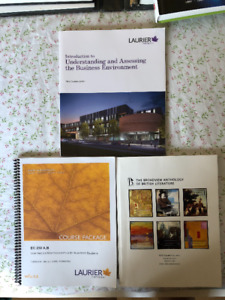 Laurier - Assorted Books