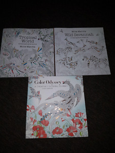 Adult colouring books 3 of them