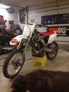 Parting out 04 CRF 250R