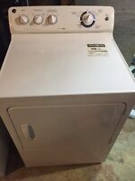 GE washer dryer pair