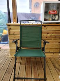 4 x Garden chairs - recliners