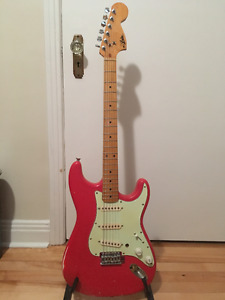 Stratocaster Aria made in Japan 70's (upgrade) PAS D'ÉCHANGE