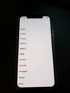 iPhone X 64GB Silver LNIB with warranty