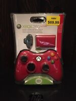 Xbox 360 Limited Edition Wireless Controller (red)