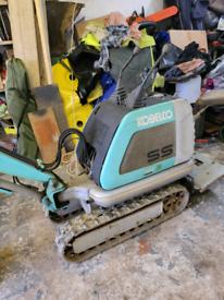 Kobelco SS1 micro digger & Lumag dumper