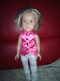 Doll with outfit on very cute