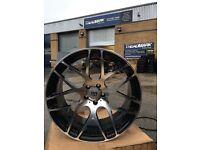 "19"" riviera alloy wheels alloys Bmw vw Volkswagen transporter t5 5x120 Vauxhall insignia"