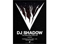 DJ Shadow @ Motion 21st July 2016
