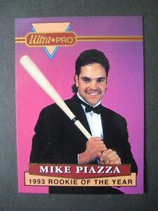 MIKE PIAZZA. ULTRA-PRO.REMBRANDT.1994