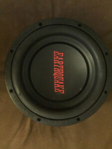 Sub 10'' Tremorx Earthquake 800 Watts