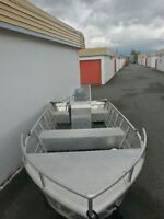 14' Marlon Runabout, motor and trailer