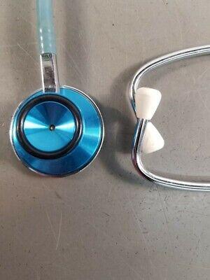 Vintage Blue Medical Acoustic Stethoscope