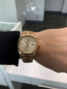 Rolex Day-Date Presidential 18K Rose Gold 36mm, Champagne Dial