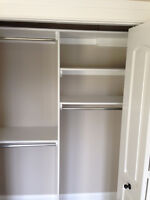 Shelf, Shelves, Shelving, Closet organizers.  Residential and Co