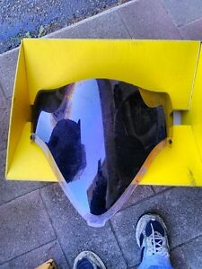 HAYABUSA 2008 GSX1300R K8 AND UP GEN 2 OEM SHIELD PAINTED Windsor Region Ontario image 1