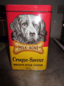 Milk Bone  Advertising Collectors Tin Lab Labrador 1995