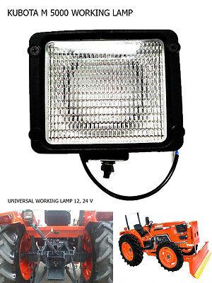 Use For Kubota Tractor M 4700 M5000 M 8200 M9000 Work Lamp Flood Light 1 Pc