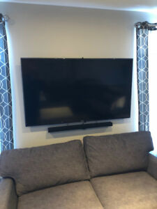 "65"" Samsung LED Flatscreen Smart TV"