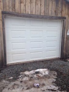 9x6.5 insulated garage door for sale
