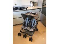 Maclaren Twin Rally Push Chair Stroller