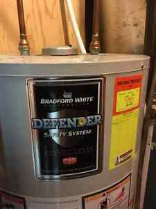 Gas fired hot water heater Prince George British Columbia image 1