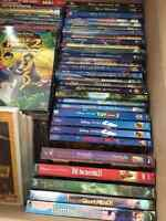 Disney Blu-rays and DVDs for sale, some RARE, NEW and SEALED!