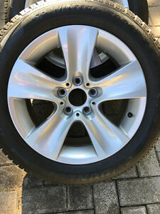 BMW 535x rims and tires London Ontario image 2