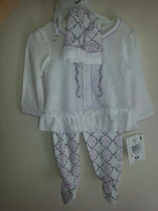 Brand New Baby Outfits With Tags & New Diapers