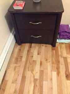 Two drawer night table