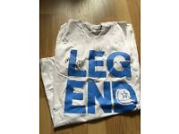 Lee Nelson signed t shirt
