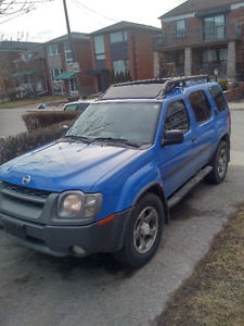 "2002 Nissan Xterra Supercharged ""Just Blue"" Manual"