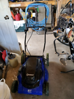 """Like new 21"""" electric Colbalt lawn mower"""