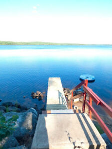 Wow! Double waterfront lot, Sherbrooke Lake