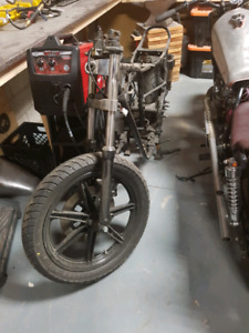 Xs650 rolling chassis