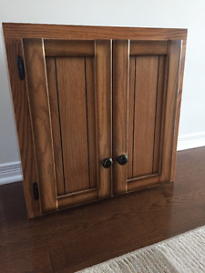 Small Cabinet with hardware for installation