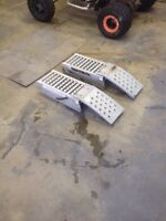 Fold up ramps $100