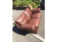 Bargain 2 and 3 leather seater couch for sale