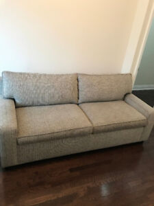 excellent condition pull out sofa bed (queen size) - $600