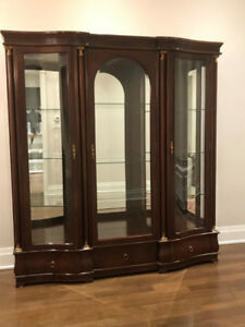 Beautiful Breakfront China Cabinet