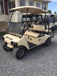 Liquidation voiturettes de golf