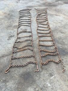 "TRACTOR TIRE CHAINS 38"" or less"
