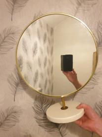 Large ladys Make up mirror / mens shaver mirror